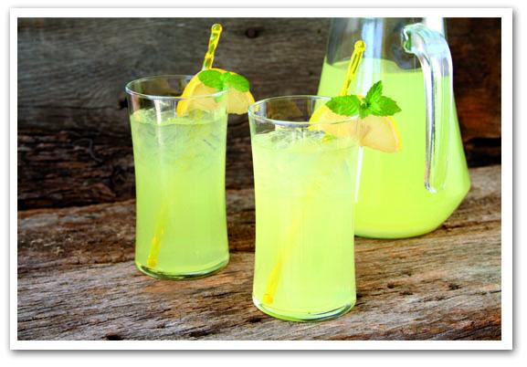 limonata-con-menta